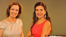 Maricel Drazer und Valeria Risi Moderatorinnen Fokus Europa Spanisch