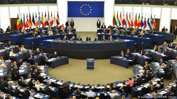 Straßburg EU Parlament Sitzung Übersicht Symbolbild (picture-alliance/AA/M. Yalcin)