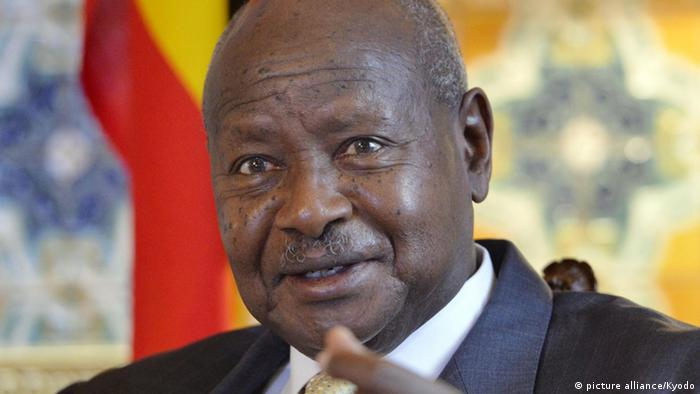 Yoweri Museveni Präsident Uganda