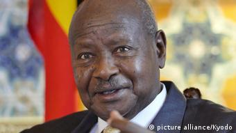 Yoweri Museveni, President of Uganda Copyright: picture alliance/Kyodo