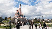 28.08.2013 #### Europe, France, Paris, Marne-la-Vall?e, Disneyland, Sleeping Beauty Castle #### Copyright: picture alliance