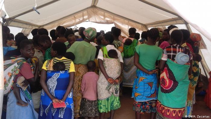Campo de refugiados em Kapise, Malawi