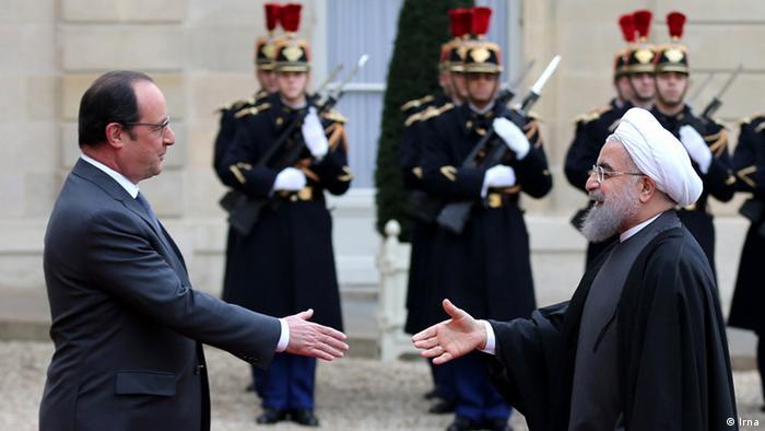 Irã assina acordos bilionários com a França