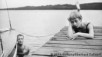 Jutta Hoffmann in Karla - a movie directed by Hermann Zschoche. Copyright: DEFA-Stiftung/Eberhard Daßdorf