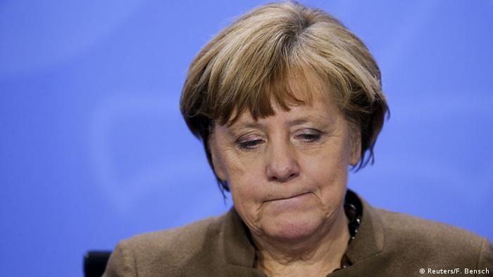 Deutschland PK Angela Merkel