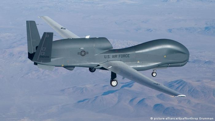 Deutschland US-Riesen-Drohne Global Hawk (picture-alliance/dpa/Northrop Grumman)
