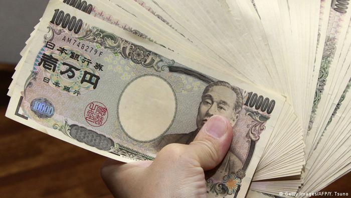Japan Yen Banknoten