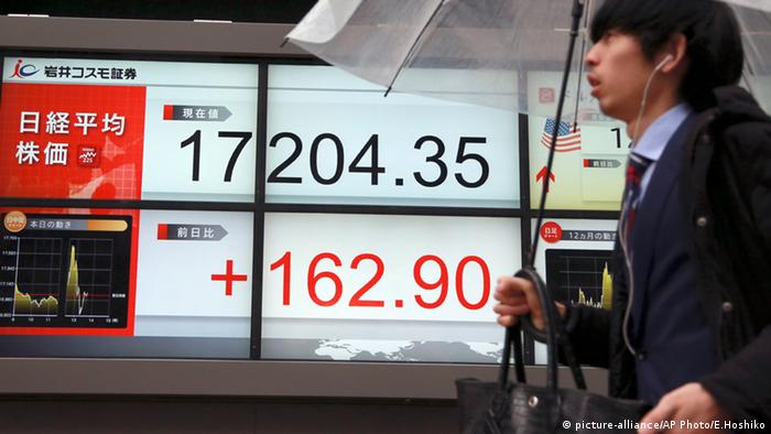 Nikkei 225 in Tokio Japan Index Wirtschaft Finanzen
