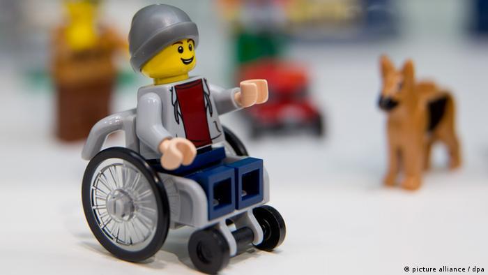 Lego Rollstuhl