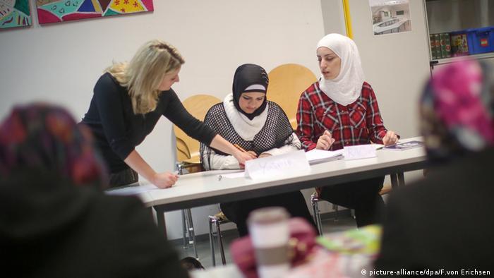 Schule Integrationskurs Muslimin Sprachschule