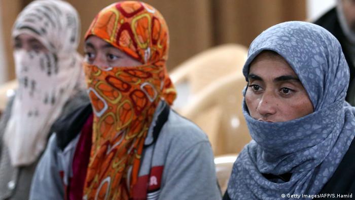 Jesdidin Jeside Frau Flucht vor IS Irak