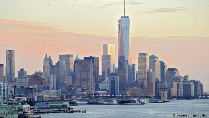USA - New York - Manhattan mit One World Trade Center
