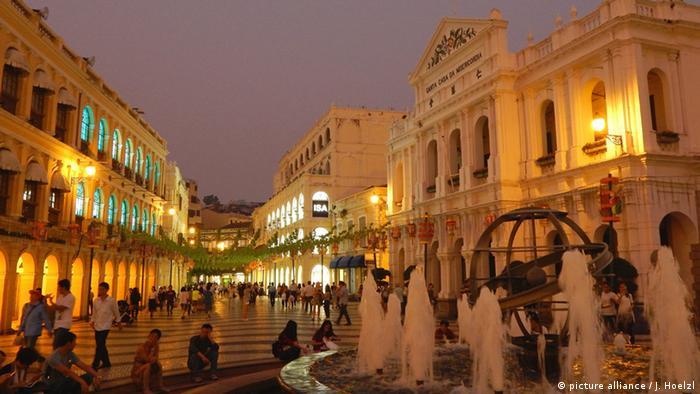Largo do Senado in Macau (picture alliance / J. Hoelzl)