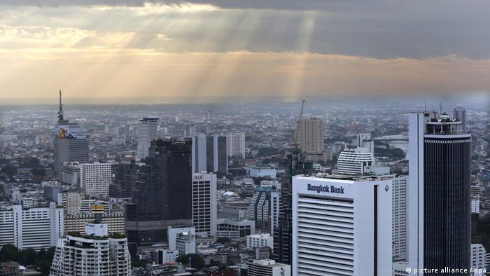 Bangkok: Bankviertel (picture alliance / dpa)