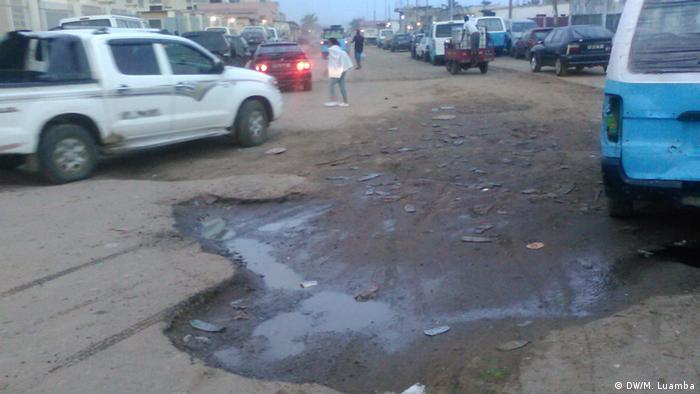 Degradação das estradas em Angola
