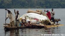 Fährunglücken im Kongo