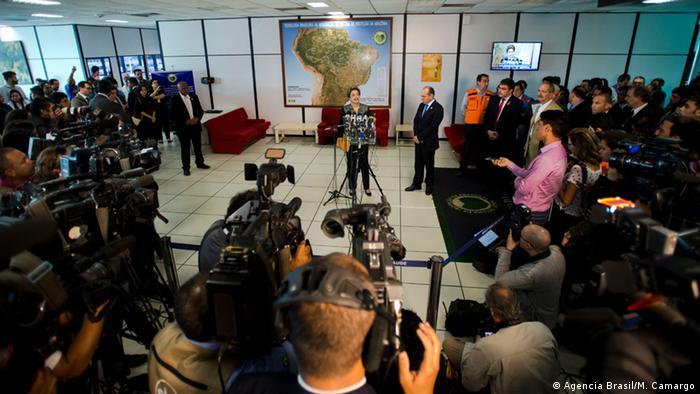 Brasilien Zika Virus - Präsidentin Dilma Rousseff