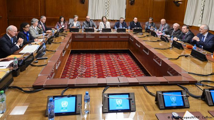 переговоры по Сирии в Женеве