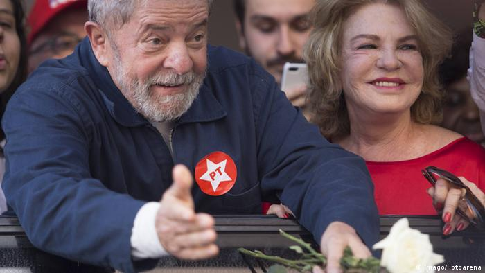 Brasilien Ex-Präsident Lula da Silva & Ehefrau Marisa Leticia