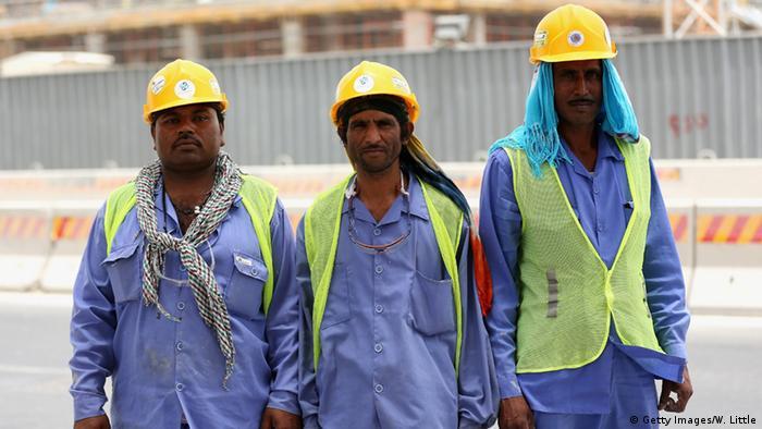 Katar Gastarbeiter in Doha