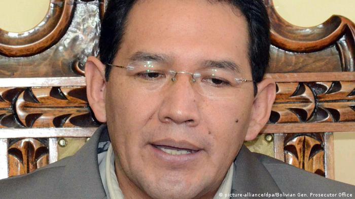 Bolivien Staatsanwalt Ramiro Guerrero