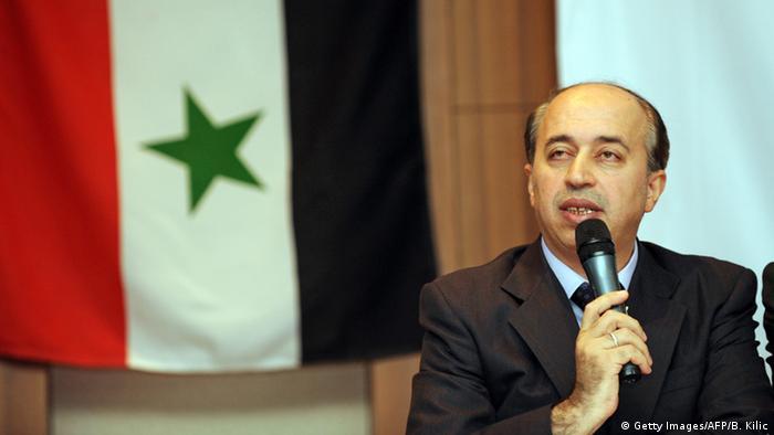 Представитель Национальной коалиции сирийских революционных и оппозиционных сил Ахмед Рамадан (фото из архива)
