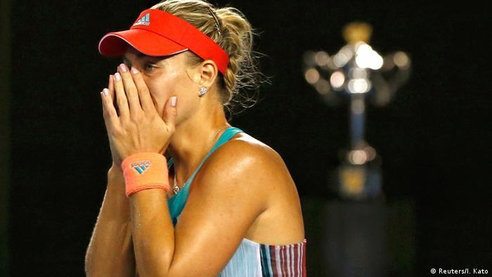 Australien Open 2016 Damen Finale Angelique Kerber gegen Serena Williams
