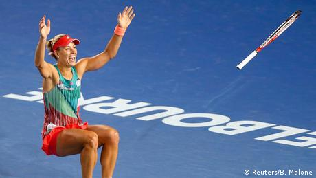 Australien Open 2016 Damen Finale Angelique Kerber gegen Serena Williams