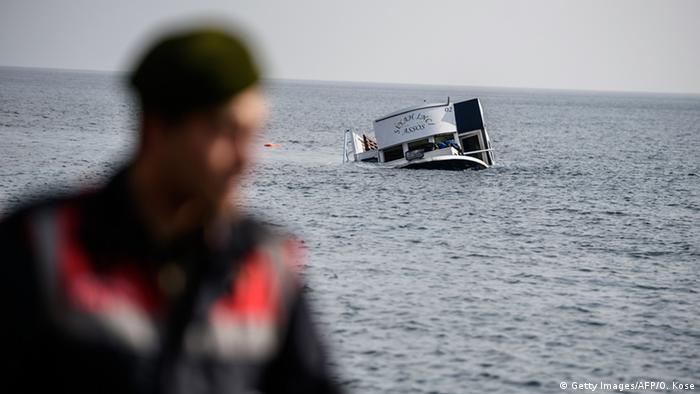 Griechenland Lesbos Flüchtlinge ertrinken vor türkischer Küste