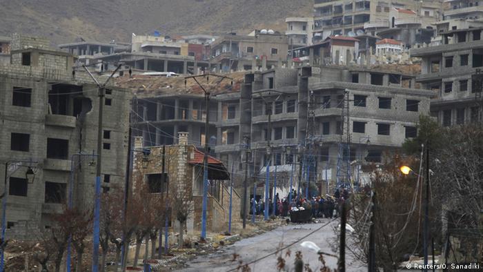 Город Мадая в Сирии