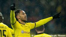 Fußball Bundesliga 19. Spieltag Borussia Dortmund - FC Ingolstadt Pierre-Emerick Aubameyang