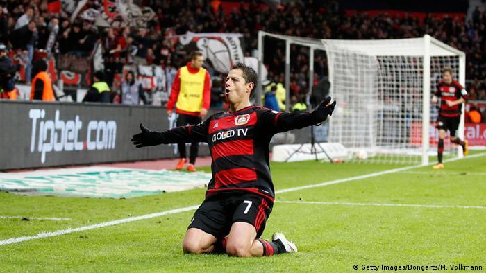 Fußball Bundesliga 19. Spieltag Bayer Leverkusen - Hannover 96