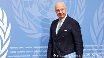 Syrische Opposition wirft UN-Vermittler de Mistura Parteilichkeit vor