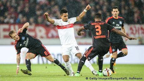 Fußball Bundesliga 19. Spieltag VfB Stuttgart vs. Hamburger SV