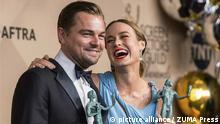 Leonardo DiCaprio und Brie Larson gewinnen SAG-Award