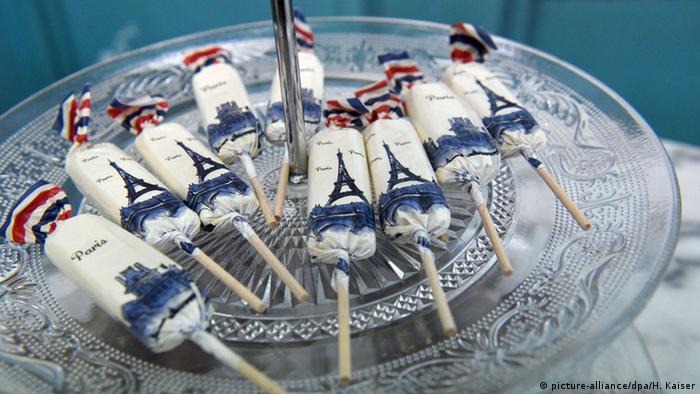 Süßwarenmesse ISM in Köln - Süßigkeiten aus Frankreich