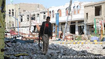 Jemen Taez Trümmer Zerstörung (picture-alliance/AA/Stringer)