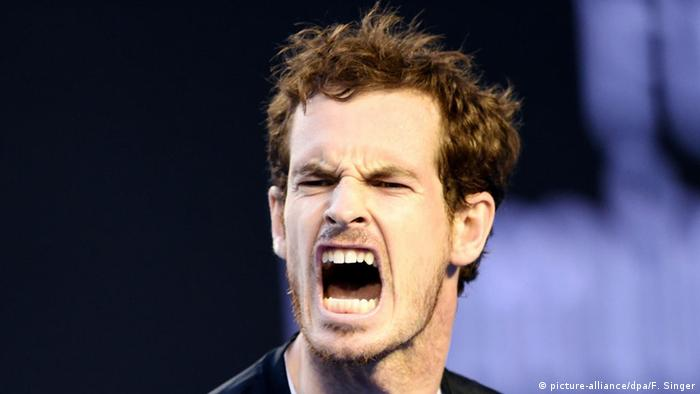 Australian Open Tennis-Turnier in Melbourne Andy Murray