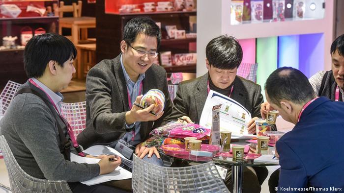 Süßwarenmesse ISM in Köln - Fini Süßigkeiten