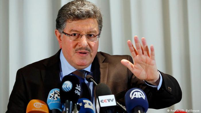 Genf Syrien Konferenz Oppositonssprecher Salim al-Muslat