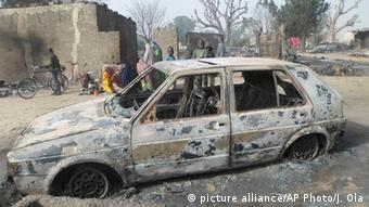 An attack carried out by Boko Haram