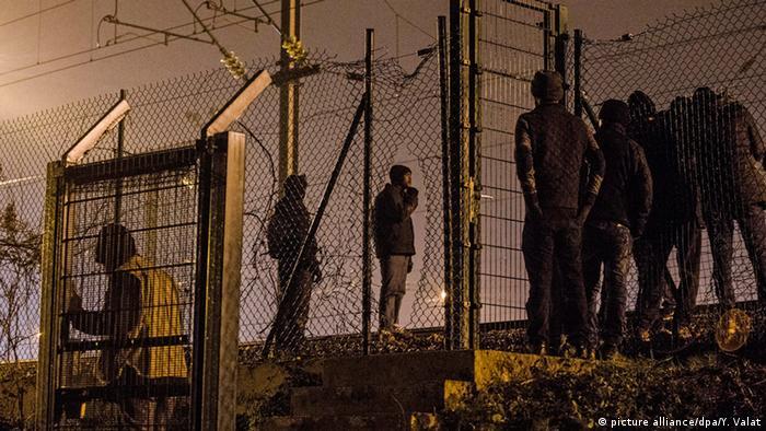 Europol 10 000 verschwundene Flüchtlingskinder (picture alliance/dpa/Y. Valat)