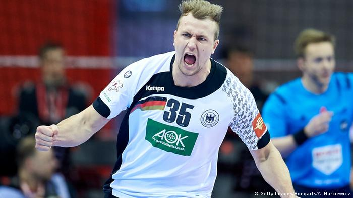Handball EM Finale - Deutschland vs. Spanien Julius Kuhn