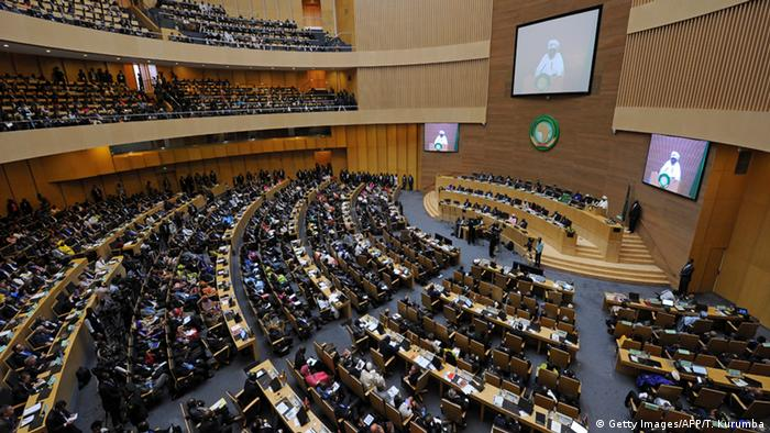 Äthiopien Gipfel Afrikanische Union in Addis Abeba (Getty Images/AFP/T. Kurumba)