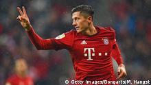 Deutschland Bundesliga FC Bayern München gegen 1899 Hoffenheim Lewandowski