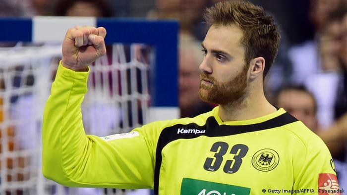 German handball team in Olympic Form
