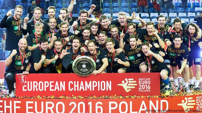 Handball EM Finale - Deutschland vs. Spanien