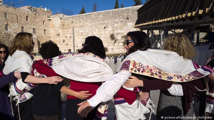 Israel Jerusalem Klagemauer Gemischte Gebetszone