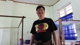 Myanmar Erster Tag des neuen Parlaments Daw Thet Thet Khine