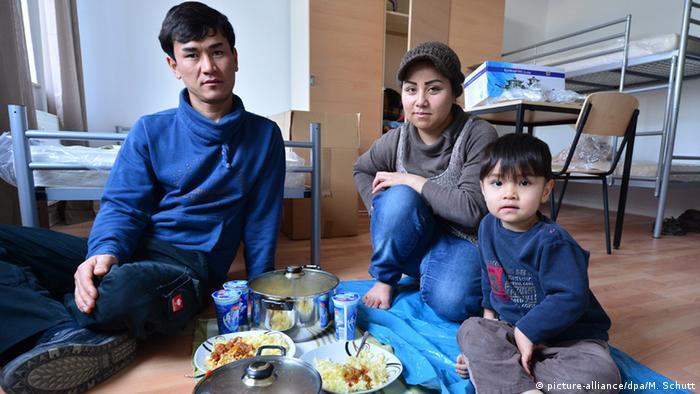 Afghan refugees in Germany